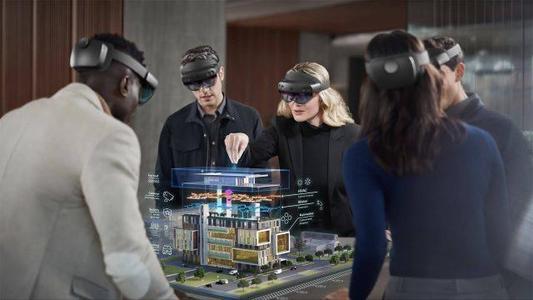 基于虚拟现实类技术AR MR的会议发布共享展示互动系统
