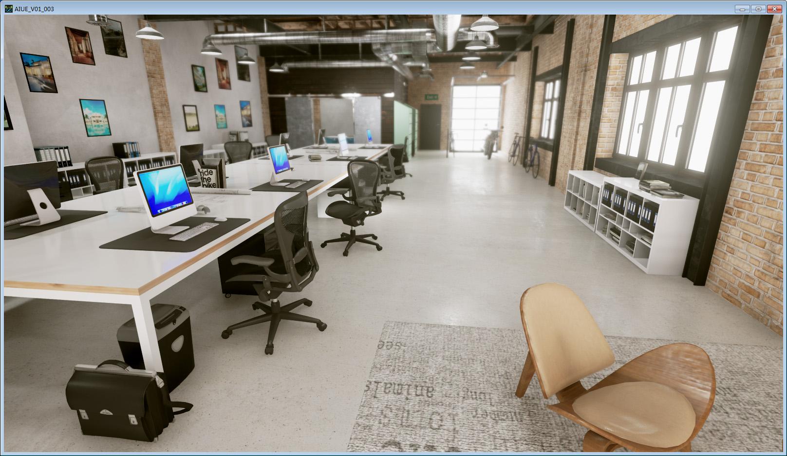 某基地三维电子沙盘VR互动系统