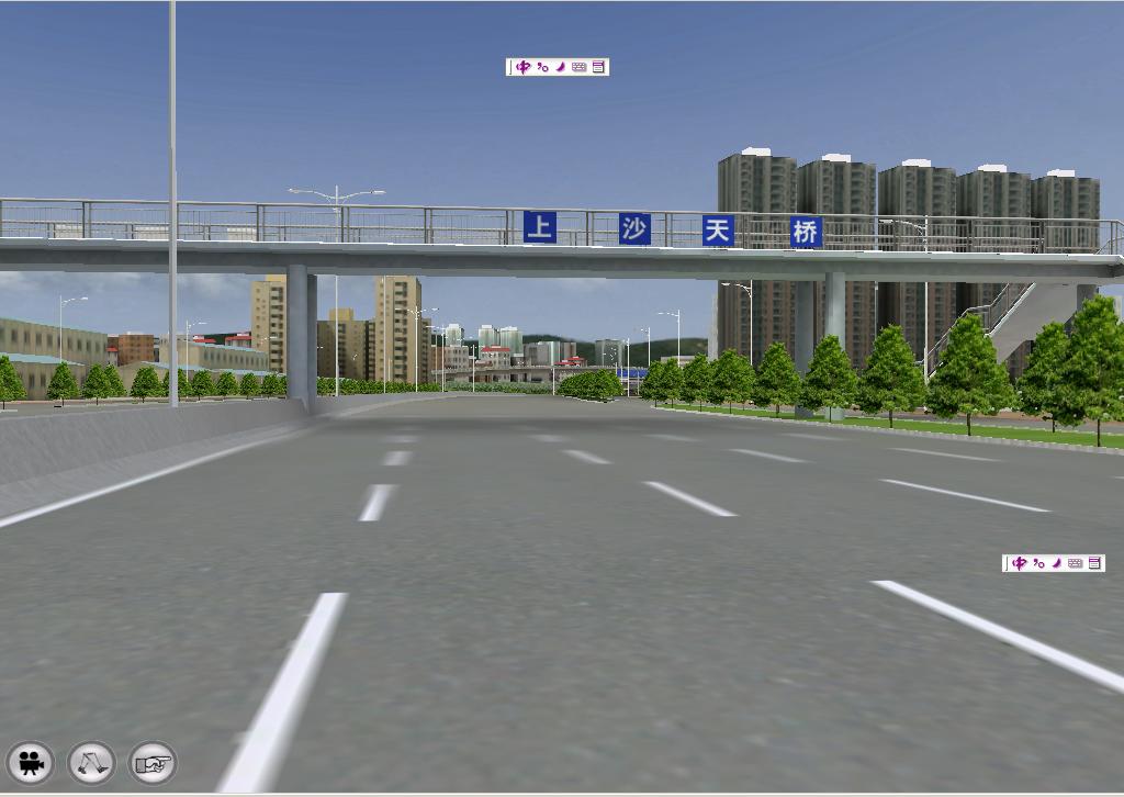 三维虚拟立交桥VR交互系统
