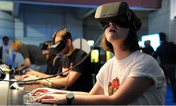 VR英语课堂英语课件