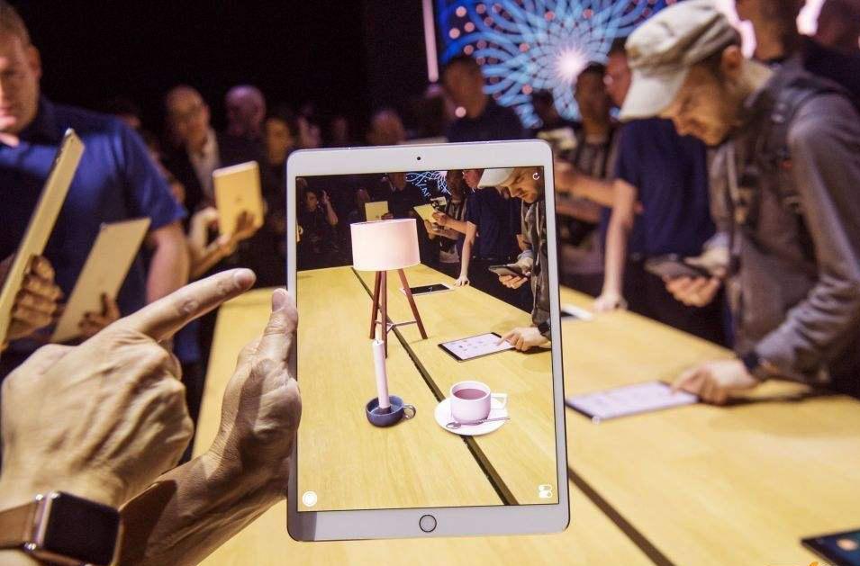 苹果AR互动门
